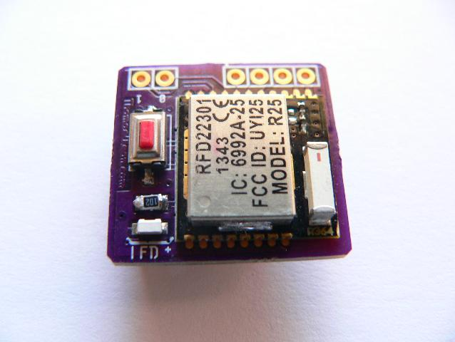 RFduino Beacon RFDbeacon12 top